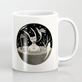 Water Orb with Rabbit Coffee Mug