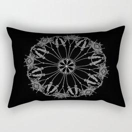 Flower Lace Rectangular Pillow