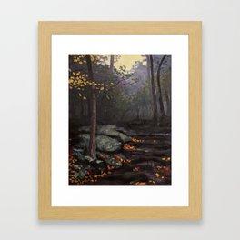 El Templo Framed Art Print