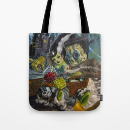 Monster ride. Tote Bag