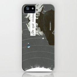 3 Gira todo en torno a la estancia iPhone Case