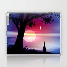 Roter Horizont. Laptop & iPad Skin