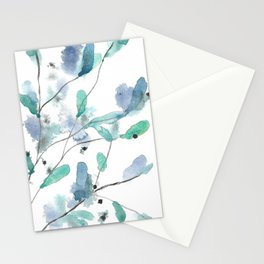 Buds 9 Stationery Cards