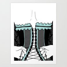 la femme 23 Art Print