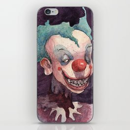 Creepy Clowns Series n.1 iPhone Skin