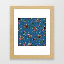 Boho Floral Framed Art Print