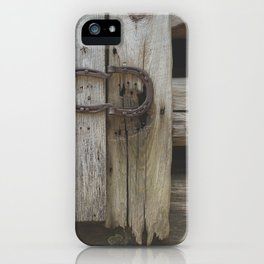 Rustic Country Americana iPhone Case