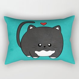 Fat Cat Rectangular Pillow
