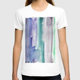 5    190907   Watercolor Abstract Painting T-shirt