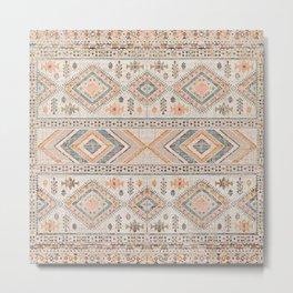 Oriental Heritage Moroccan Rug 18 Metal Print