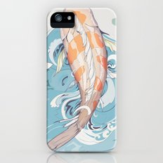 Koi Passing Through Slim Case iPhone SE