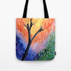 Be the Colorful Tree Tote Bag