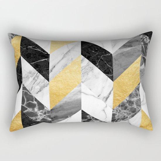 Marble Pattern Rectangular Pillow