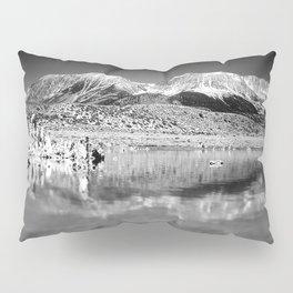 Mono Lake Black and white Pillow Sham