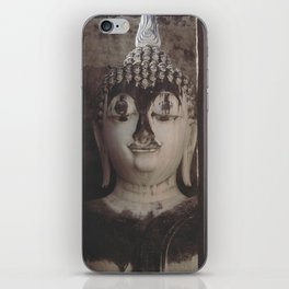 Wat Si Chum Buddha at Sukhothai Historical Park iPhone Skin
