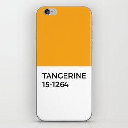 Tangerine Orange Pantone Chip iPhone Skin