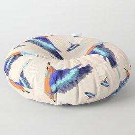 my favorite bird Floor Pillow