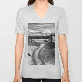 Beach Path Unisex V-Neck
