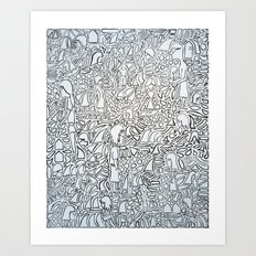Whack Art Print
