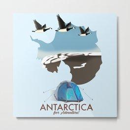 Antarctica - For Adventure! Metal Print