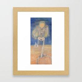 Earth Angel Framed Art Print