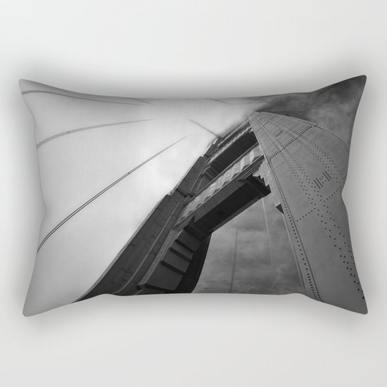The Golden Gate Bridge Rectangular Pillow