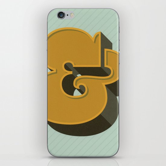 Heavy Ampersand iPhone & iPod Skin