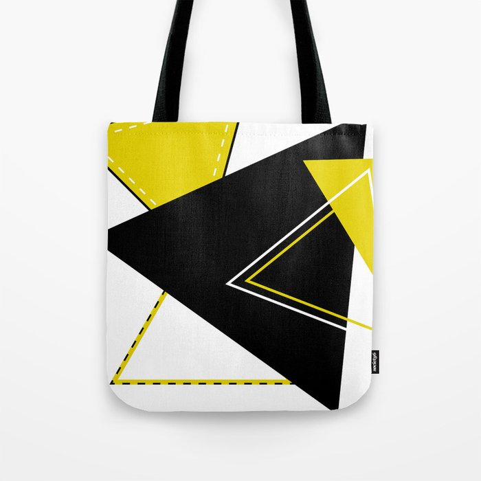 Triangular Mess Tote Bag