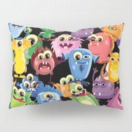 cute monsters Pillow Sham