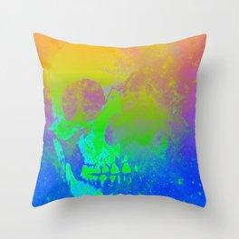 Skull/Star II Throw Pillow