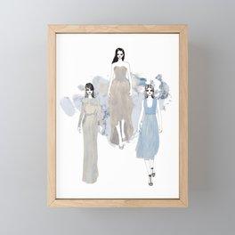 Fashionary 1 Framed Mini Art Print