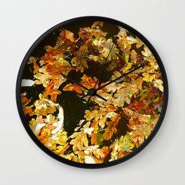 Leaved Wall Clock