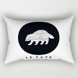 LE TATE Rectangular Pillow