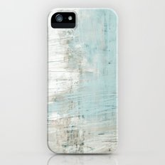 bluish green iPhone (5, 5s) Slim Case