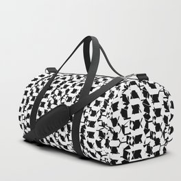 Houndstooth Duffle Bag