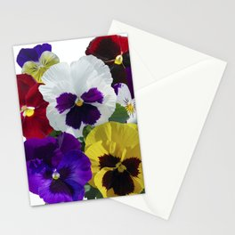 Pansies! Stationery Cards