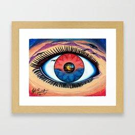 EyeSet Framed Art Print