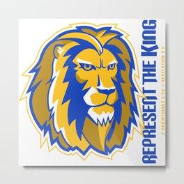 Represent the King Metal Print