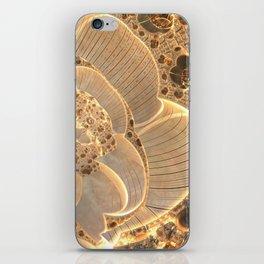 Golden Flower Field iPhone Skin
