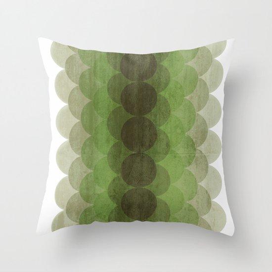 Round & Round  Throw Pillow