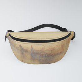 "J.M.W. Turner ""Lucerne from the Lake"" Fanny Pack"