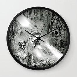 Frankestein - based on the wonderful work of Bernie Wrightson  Wall Clock