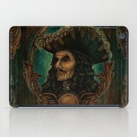 captain hook iPad Cases featuring Hook by ManuelDA