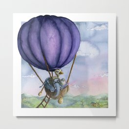 Flightless Animal Ride Metal Print
