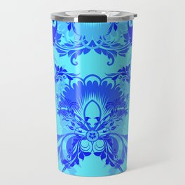floral ornaments pattern ryi Travel Mug