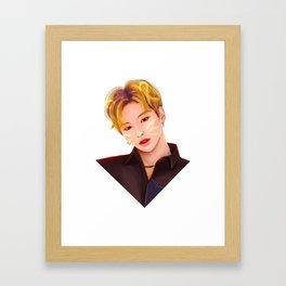 Kang Daniel Cat Framed Art Print
