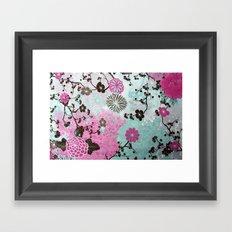 flowers 2 Framed Art Print
