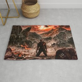 Defiant To The End Rug