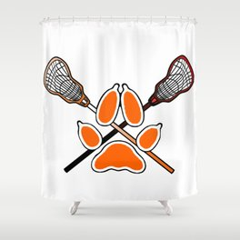 Palmetto State Foxes Exy Crest Shower Curtain