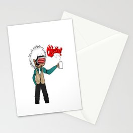 Chibi Godot Stationery Cards